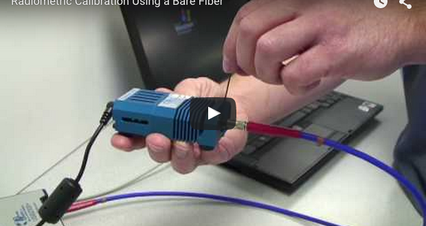 Radiometric Calibration Using a Bare Fiber