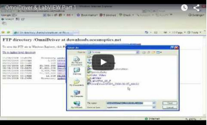 OmniDriver & LabVIEW Part 1