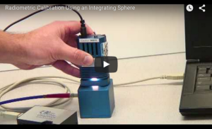 Radiometric Calibration Using an Integrating Sphere