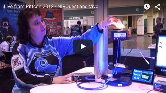 The NIRQuest Spectrometer and Vivo Light Source